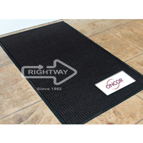 Business Card Logo Mat Logomats By Rightway