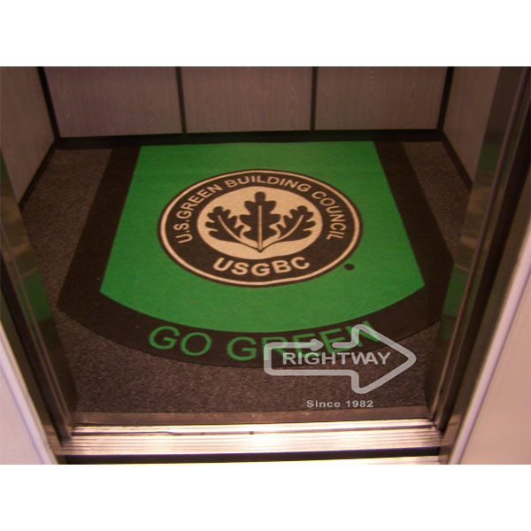 Elevator Logo Mat Logomats By Rightway
