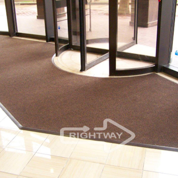 revolving door custom entrance mats logomats by rightway